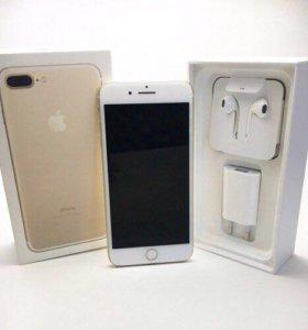 Новый iPhone 7 plus 128 gold обменный