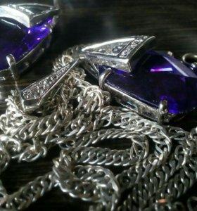 Продам серебрянные комплекты