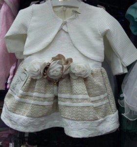 Платье на девочку новое