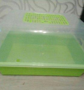 Террариум-контейнер для улитки
