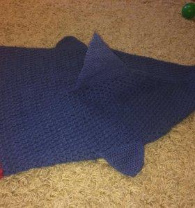 Спальник-акула детский