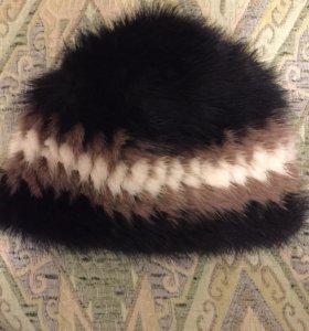 шапка женская. зима . норка.