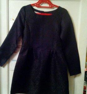 Платье черное 44-46