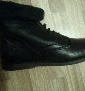 Зимние ботинки 44—45 размер