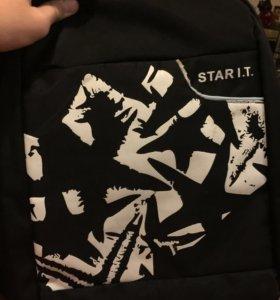 Рюкзак, чёрный, вместительный