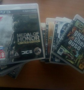 Игры на PS3, COD, Assassin's creed, Gta4...