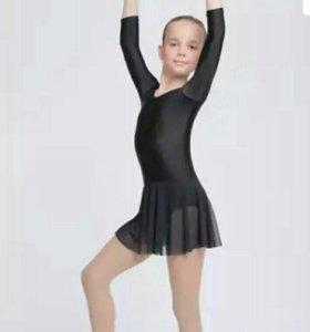Купальник гимнастический для девочек 4-12 лет