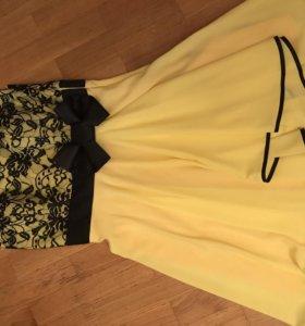 Коктейльное платье р44