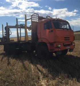 Услуги по погрузке/вывозке круглого леса