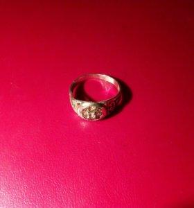Кольцо серебро 925проба с фионитами