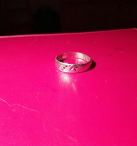 Кольцо серебряное 925 пробы 17.5—18