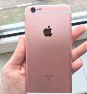 Продам айфон 6s 32g розовый