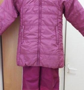 Куртка(р.128)+штаны(р.122)