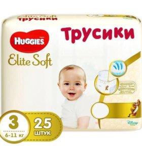 Трусики-подгузники Huggies Elite Soft