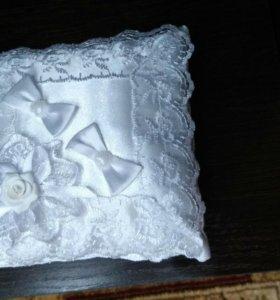 Подушка для обручальных колец