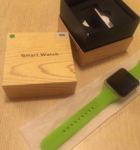 Умные смарт часы w8, smart watch