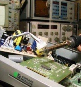 Ремонт спутникового оборудования