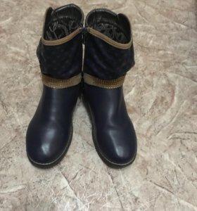 Ботинки для девочки размер 36