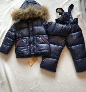 Зимний комбинезон штаны и куртка