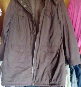 Куртка-парка новая
