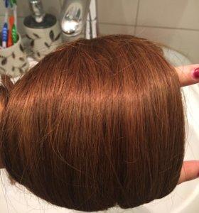 новые натуральные волосы на заколках