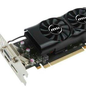 Видеокарта MSI geforce gtx 1050 ti lp 4 gb