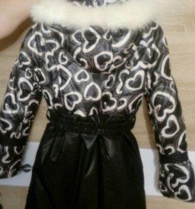 Пальто зимние для девочек