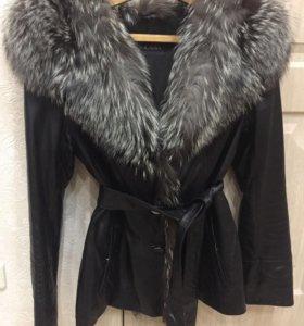 Продам куртку с чернобуркой
