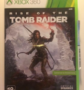 Rise of the tomb rider Xbox 360.