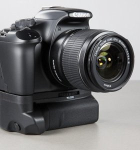 Canon 600d с бат. блоком, полный комплект в сумке