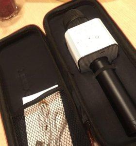 Микрофон караоке черный
