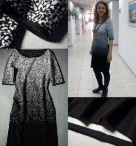 Новое шерстяное платье