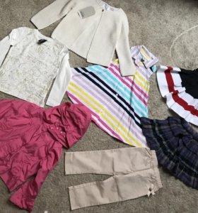 Пакет фирменных вещей для девочки