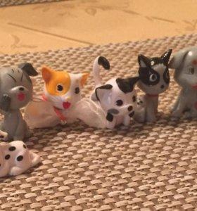 Кошечки и собачки
