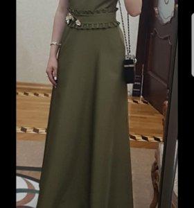 Платье, цвета Хаки