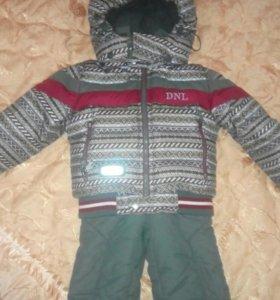 Зимняя куртка + штаны / 80см