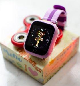 Детские часы Smart Baby Watch Q100, новые.