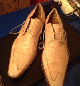 Туфли Италия -кожа-42 разм
