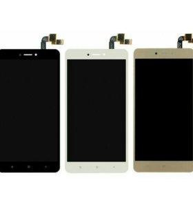 Дисплей для Xiaomi Redmi Note 4, 4x + Тачскрин