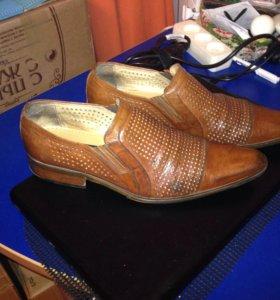 Туфли Италия кожа 41 разм