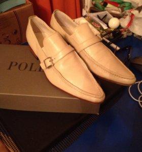 Туфли мужские Pollini Италия кожа 42 разм