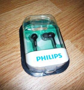 Наушники Philips SHE1450 (цвет - черный)