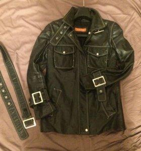 Куртка кожаная женская 40 размер