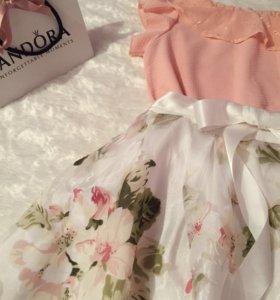 Юбка фатиновая и блузка
