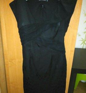 Платье и кофта с кружевами