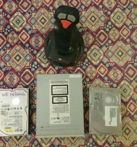 Жёсткие диски, CD-ROM, др. (лом)