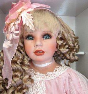 Большая кукла коллекционная новая Роза K.Rubert