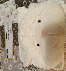 Одеяло/покрывало/плед Dormeo Pet Sheep (новое)