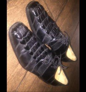 Туфли крокодил оригинал