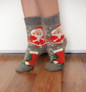 Шерстяные носки, варежки, перчатки